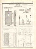 Art Metal Construction Company 1938 Vintage Catalog Door Hollow Frames