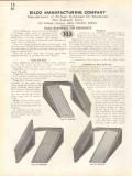 Bilco Mfg Company 1938 Vintage Catalog Door Steel Bulkhead Residence