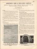 Armstrong Cork Insulation Company 1931 Vintage Catalog Nonpareil Brick