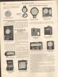 Bristol Company 1931 Vintage Catalog Instruments Indicating Recording