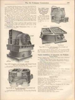 Air Preheater Corp 1931 Vintage Catalog Heat Recovery Ljungstrom