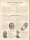 Boston Gear Work Sales Company 1931 Vintage Catalog Chain Drives
