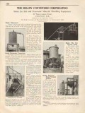 Brady Conveyors Corp 1931 Vintage Catalog Pneumatic Material Handling