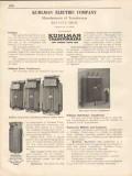 Kuhlman Electric Company 1931 Vintage Catalog Power Transformers
