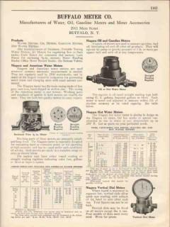 Buffalo Meter Company 1931 Vintage Catalog Niagara American Water Oil