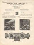 Pittsburgh Piping Equipment Company 1931 Vintage Catalog Valves