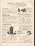 American Water Softener Company 1931 Vintage Catalog Pool Refiltration