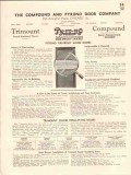 Compound Pyrono Door Company 1941 Vintage Catalog Fireproof Wood