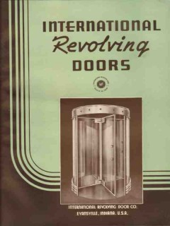 International Revolving Door Company 1941 Vintage Catalog Metal Work
