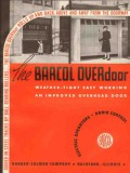 Barber-Colman Company 1941 Vintage Catalog OVERdoor Electric Barcol