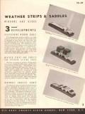Accurate Metal Weather Strip Company 1941 Vintage Catalog Windows Door