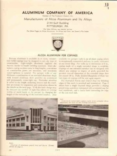 Aluminum Company Of America 1941 Vintage Catalog Roofing Alcoa Copings