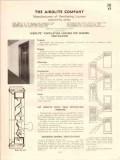 Airolite Company 1941 Vintage Catalog Ventilating Louvers Door Window
