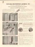 Barland Weatherstrip Material Company 1941 Vintage Catalog Knight