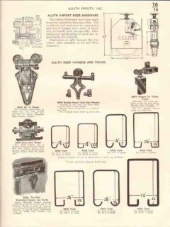 Allith-Prouty Inc 1941 Vintage Catalog Door Hardware Rolling Overhead
