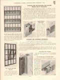Chamberlin Metal Weather Strip Company 1941 Vintage Catalog Screens