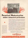 Petroleum Rectifying Company 1936 Vintage Ad Perpetual Modernization