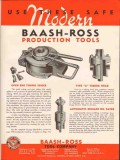 Baash-Ross Tool Company 1936 Vintage Ad Oil Modern Tubing Spider Head