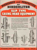 Hinderliter Tool Company 1936 Vintage Ad Oil Casing Head Equipment
