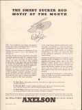 Axelson Mfg Company 1936 Vintage Ad Oil Smart Sucker Rod Motif Pumps
