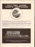 Bartlett Hayward Company 1936 Vintage Ad Fasts Self-Aligning Couplings