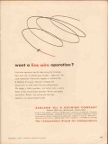 Ashland Oil Refining Company 1956 Vintage Ad Gasoline Live Wire