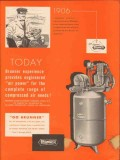brunner mfg company 1956 compressed air power needs vintage ad