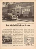 bell gossett company 1956 buckley scott oil truck delivery vintage ad