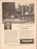 Purolator Products Inc 1956 Vintage Ad Oil Joseph D Forte New Jersey