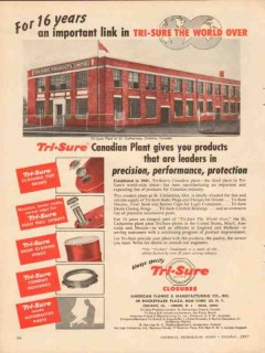 american flange mfg company 1957 st catharines ontario ca vintage ad