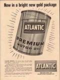 Atlantic Refining Company 1957 Vintage Ad Premium Motor Oil New Gold