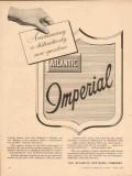atlantic refining company 1957 announcing imperial gasoline vintage ad