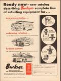 Buckeye Iron Brass Works 1957 Vintage Ad Aviation Refueling Equipment