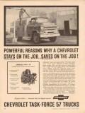 chevrolet 1957 powerful reasons stays saves chevy trucks vintage ad