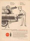 coca-cola company 1957 service station easy make money coke vintage ad