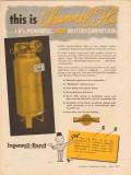 ingersoll-rand 1957 channel-flo powerful motorcompressor vintage ad