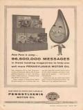 Pennsylvania Grade Crude Oil Assoc 1957 Vintage Ad Leading Magazines