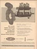 Aldrich Pump Company 1955 Vintage Ad Peak Water Flooding Direct Flow