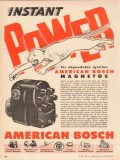 American Bosch Arma Corp 1955 Vintage Ad Power Ignition Units Magnetos