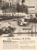 Anchor Petroleum Company 1955 Vintage Ad Marketing Problem Specialists