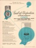 Baker Oil Tools Inc 1955 Vintage Ad Ball Type Back Pressure Valve Seal