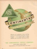 Continental Supply Company 1955 Vintage Ad Oil Gas Industries Serving