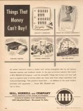 Hill Hubbell Company 1955 Vintage Ad Oil Pipe Coatings Wrappings Money