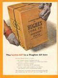 Hughes Tool Company 1955 Vintage Ad Oil Field Drilling Extra Bit Box
