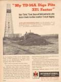 International Harvester Company 1955 Vintage Ad TD14A EC Corky Crow TX