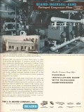 J B Beaird Company 1955 Vintage Ad Oil R Lacy Inc Ingersoll-Rand Plant
