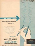 Lane-Wells Company 1955 Vintage Ad Oil Field Dualized Logging Trick