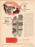 Lane-Wells Company 1955 Vintage Ad Oil Field Packers Performance Talk