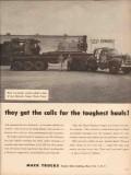 mack trucks 1955 jess edwards corpus christi tx six-wheeler vintage ad