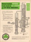 Maloney-Crawford Tank Mfg Company 1955 Vintage Ad Verticold Separator